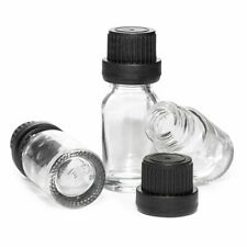 16 Pack Glass Lab Sample Bottle Vials 033 Oz With Lids For Labs Experiment Test