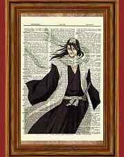 Kuchiki Byakuya Bleach Dictionary Art Print Poster Picture Soul Society Captian