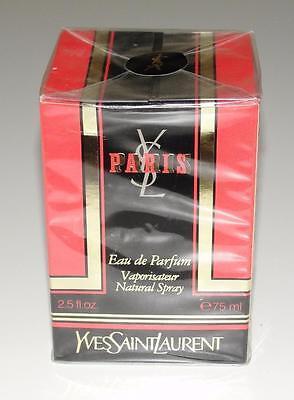 YVES SAINT LAURENT PARIS~NEW~Eau de Parfum Natural Spray~2.5 fl oz~VINTAGE~RARE