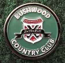 Caddyshack Bush Wood Country Club Golf Ball Marker