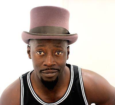 3ca82ea0df5403 Mens Top Hat, 100% wool satin lined gentlemen formal hat, 5