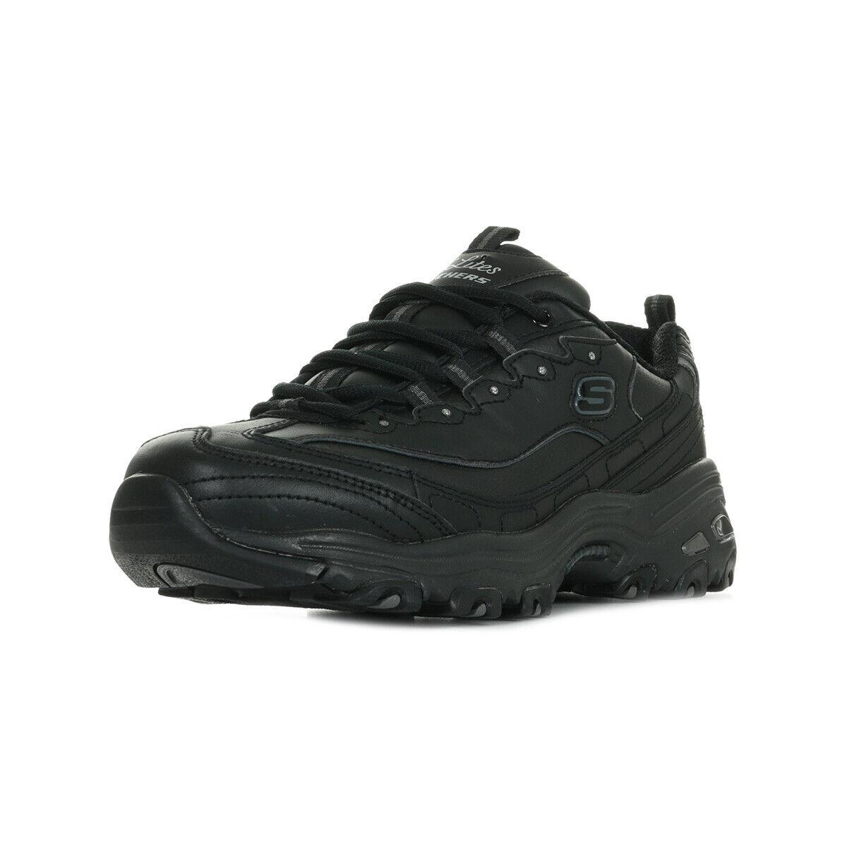 Schuhe Skechers Damen D'Lites Fresh Start schwarz