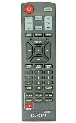 Sound bar Remote AKB73575421 Replaced for LG Soundbar NB3530ANB NB4530B NB3532A