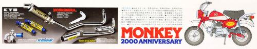 Honda Monkey 2000 Anniversary Motorrad Bike 1:6 Model Kit Bausatz TAMIYA 16030