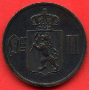 1897-Norway-2-Ore-Coin