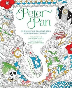 Image Is Loading Peter Pan Fairytale Fantasy Adult Colouring Book Creative