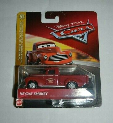DISNEY PIXAR CARS HEYDAY SMOKEY DOC RACING DAYS 2019 Save 6/% GMC