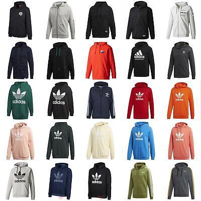 Adidas Kapuzenpullover Originals Essentials Pullover Trefoil Vlies 3 Streifen NMD xybo | eBay