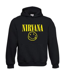 Cappuccio Nirvana Con Fino 5xl Da Divertente Felpa I Uomo Detto qfpBC