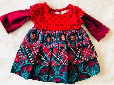 "Matilda Jane Doll Clothes Matches You Belong Dress Fits 18"" Doll Joanna Gaines"
