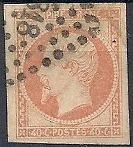1853-60-FRANCIA-USATO-NAPOLEONE-EMPIRE-FRANC-40-CENT-FR627