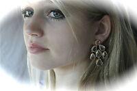 Kate Spade York Stunning Crystal Petals Bridal Chandelier Drop Earrings Rare