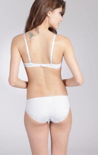 with matching panties E et D S42074 cotton Push up Bra 2 different colours