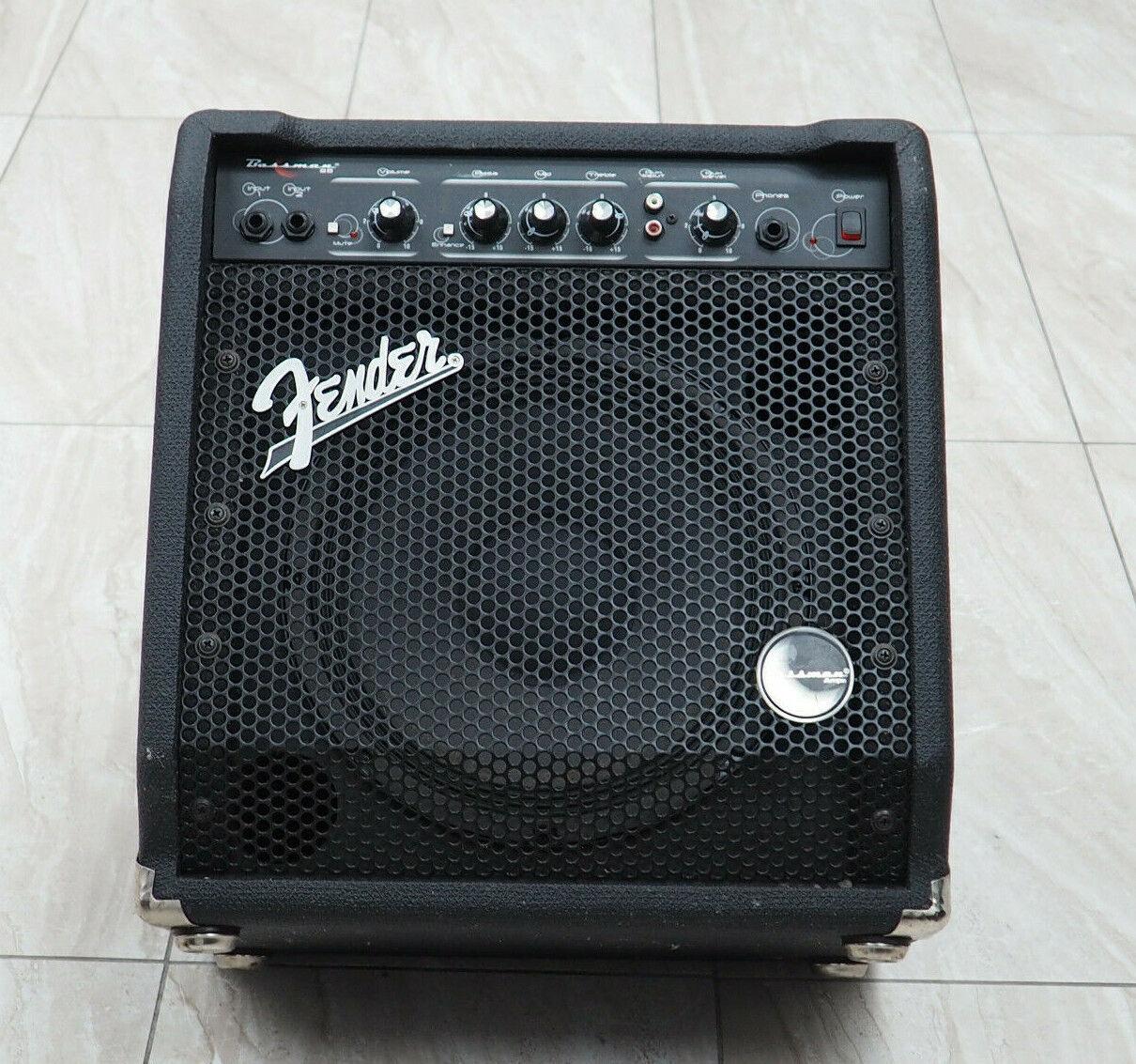 Fender Bassman 25 Amplifier; 25 Watts @ 8 Ohms