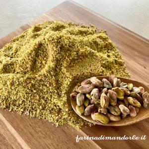Farina di pistacchio 10 kg. (10 confezioni da 1 kg.) sottovuoto ideale per dolci