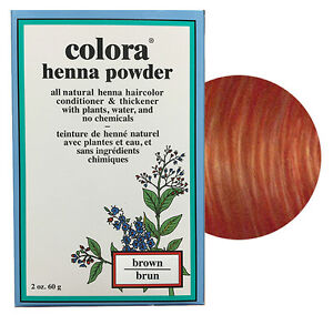 Colora-Henna-Powder-All-Natural-Hair-Color-60g-Brown