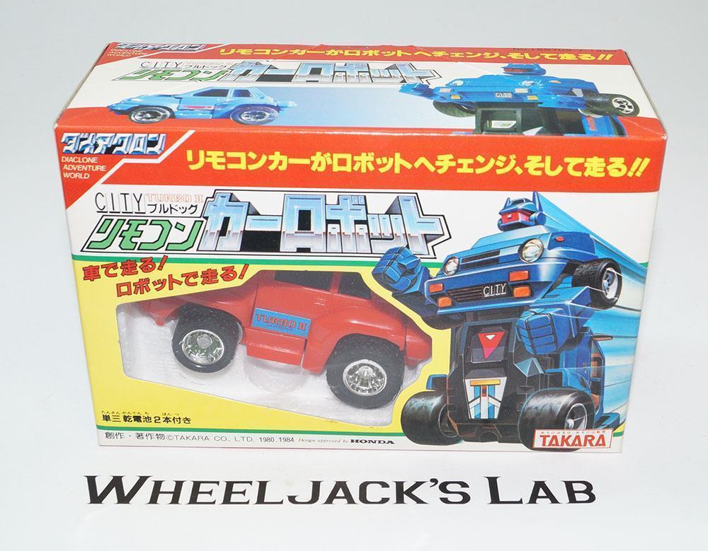 bienvenido a orden Patines Rojo ciudad Turbo II Honda aventura aventura aventura Takara Transformers Vintage Diaclone  barato en alta calidad