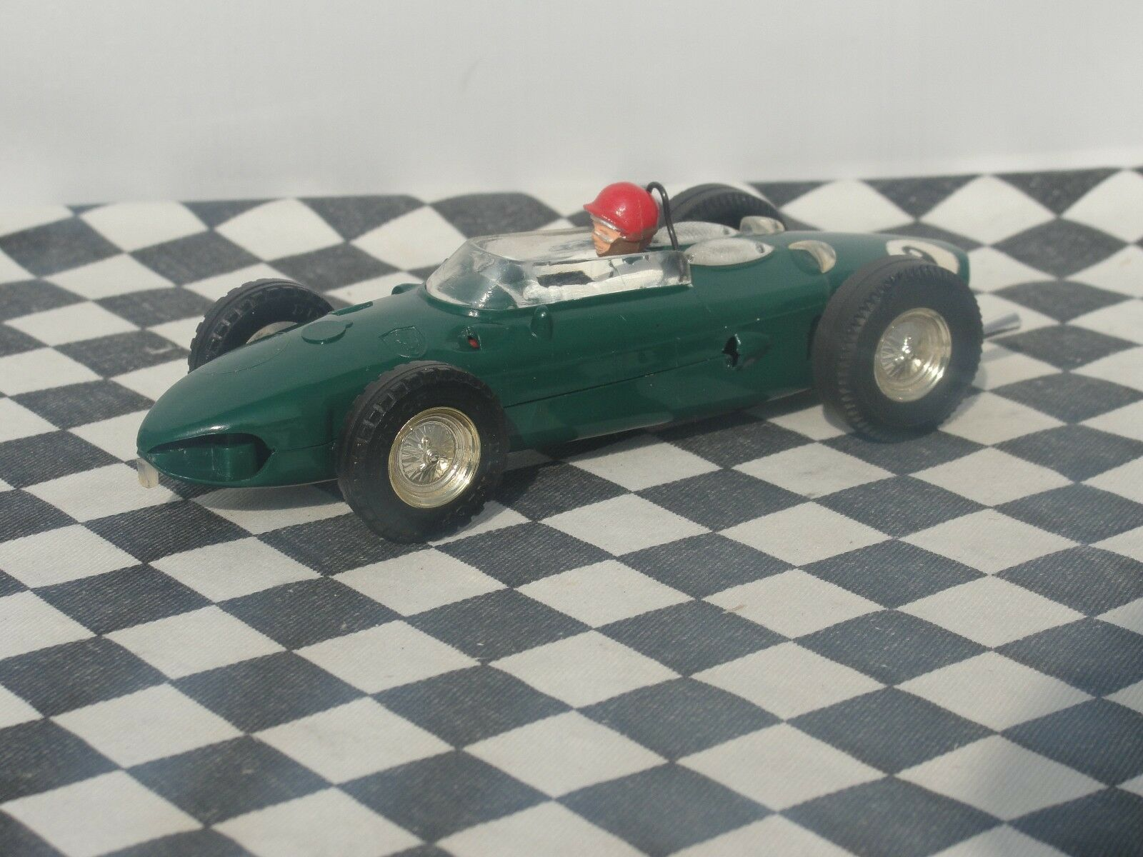 SCALEXTRIC 1960'S F1 FERRARI GREEN  C62   1.32  USED UNBOXED SCARCE