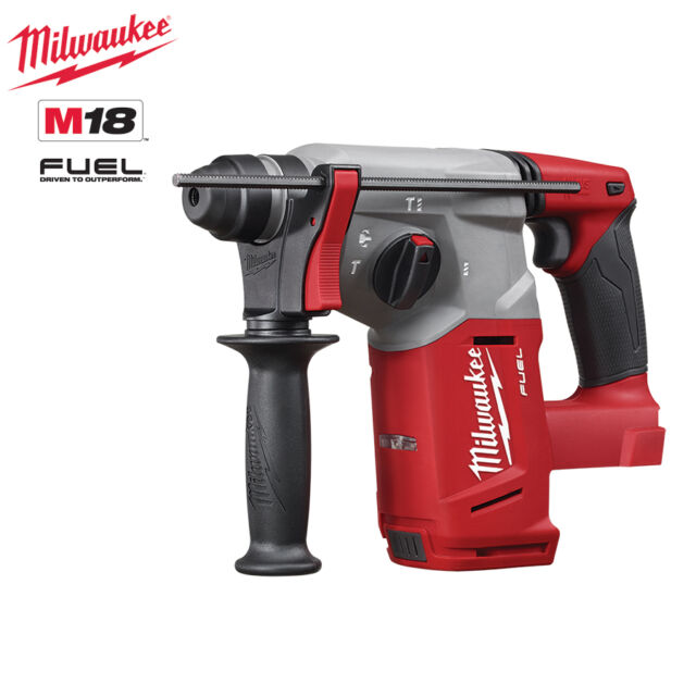 Milwaukee - M18 FUEL - 26mm SDS+ Rotary Hammer Drill - M18CH0 - Skin Only