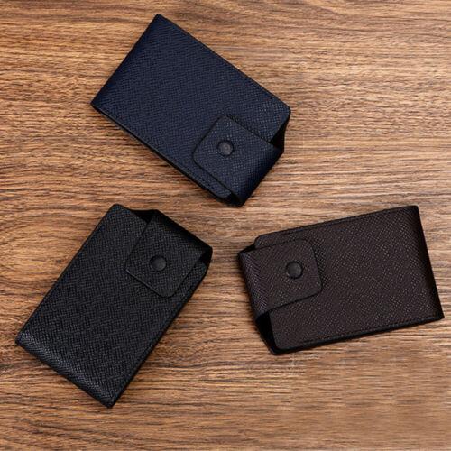 Business Fashion ID Credit Card Wallet Holder Name Cards Case Pocket Organizer
