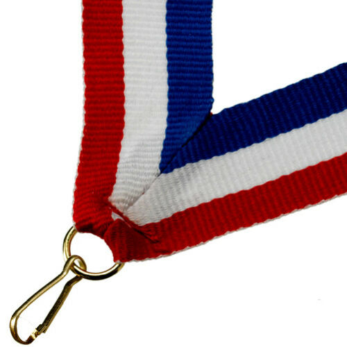 3 PACK SIZES PACK OF 10 WITH RIBBONS FOOTBALL CLUB ACRYLIC MEDAL 50mm-70mm