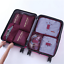 Packing-Cubes-Travel-Pouches-Luggage-Organiser-Clothes-Suitcase-Storage-Bag-7Pcs thumbnail 14