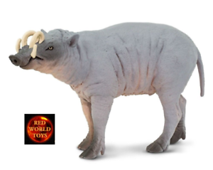 BABIRUSA (DEER PIG) WILDLIFE TOY MODEL by SAFARI LTD 100102 *NEW WITH TAG*