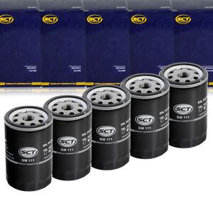 5 x Ölfilter Motor SCT SM111 AUDI A3 8L A4 A6 TT 8N BMW 3er E30 5er E28