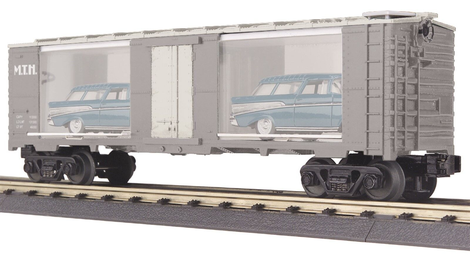 O Gauge MTH Audio Audio Audio Transportation 40' Window Box Car 30-74016 -- USED 824a69