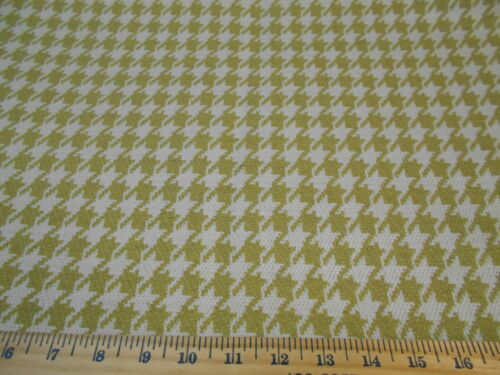 "7 28 YDS ""HOUNDSTOOTH""DOUBLESIDED ELEGANT UPHOLSTERY FABRICFABRIC FOR LESS"