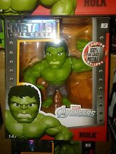 Marvel AVENGERS Movie HULK Heavy Metal Diecast Figurine Jada 4 inch M58