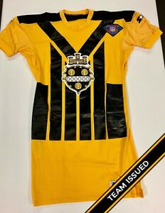 more photos 444ec 31555 Details about Pittsburgh Steelers Team Issued 1994 NFL 75th Anniv Throwback  Jersey Back Stock