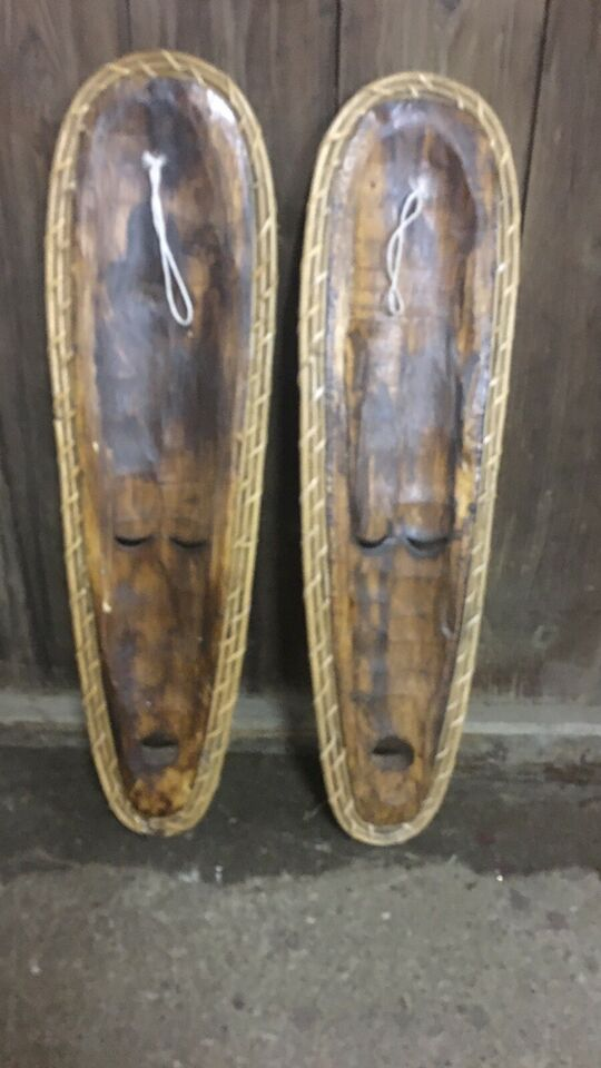 Træfigurer, Masker