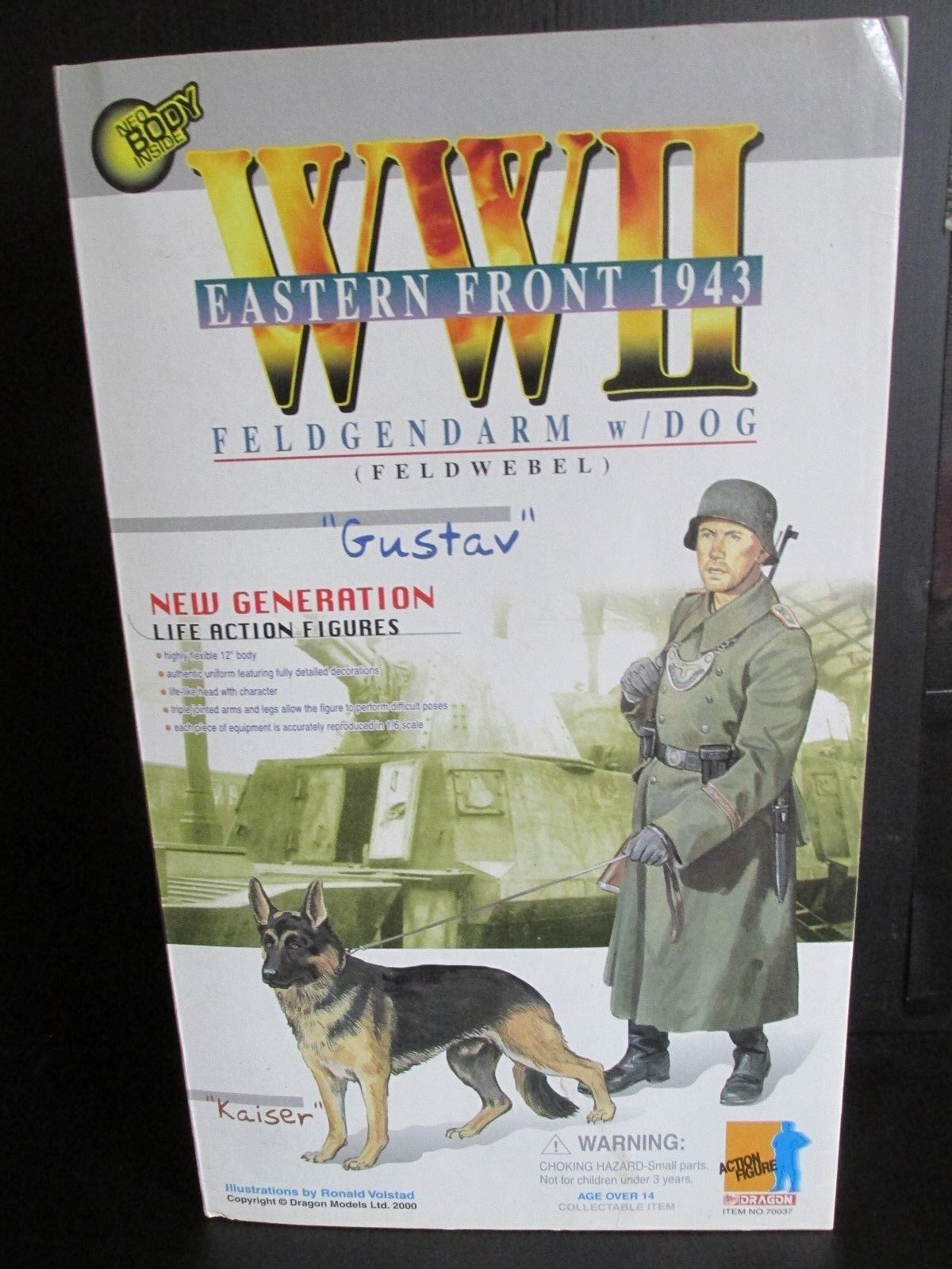 Dragon Side show 1 6TH scale figures WW 11EASTERN FRONT 1943  GUSTAV  &  KAISER