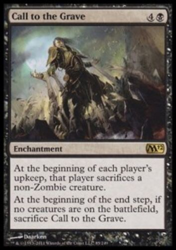 Call to the Grave MTG Magic 2010-2015 *MRM* FRENCH Appel à la Tombe