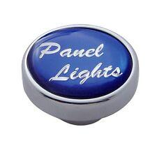 knob panel light purple maltese iron cross for Peterbilt Kenworth Freightliner