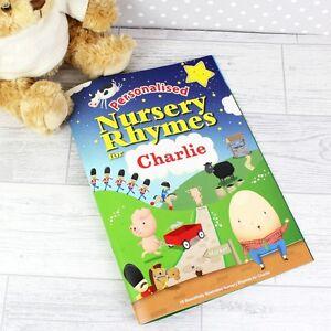Personalised Gifts, Nursery Rhymes Book, Children, Kids ...