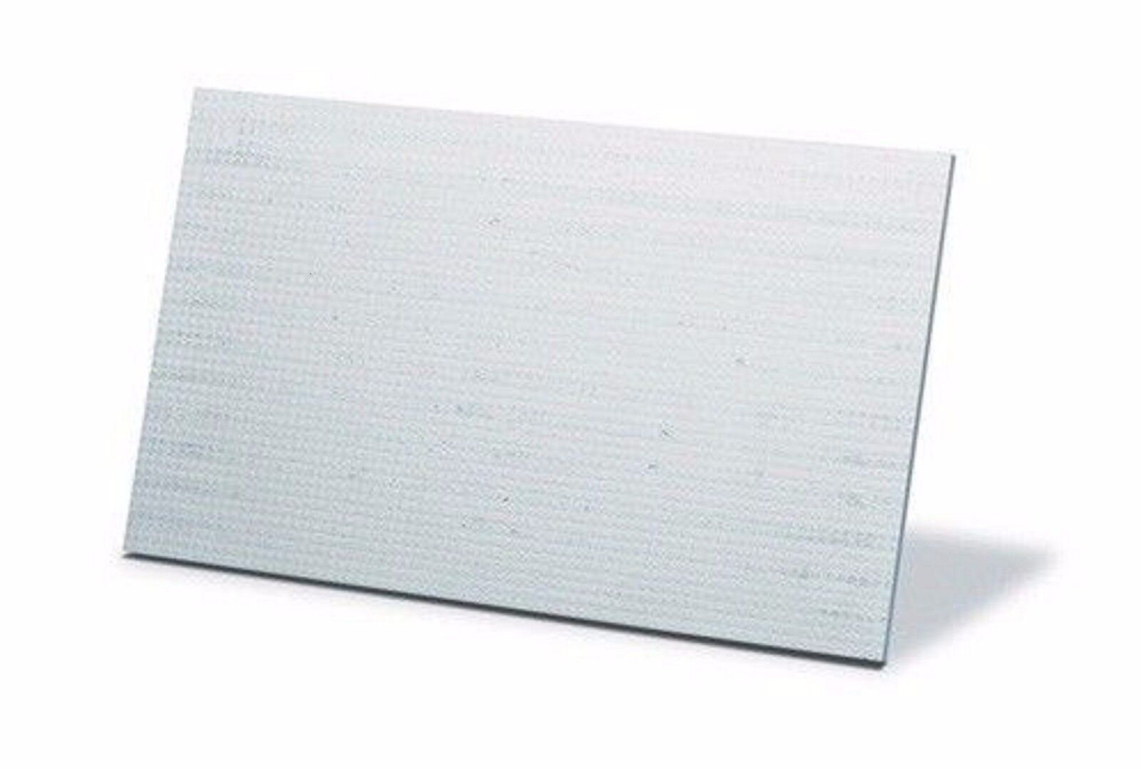 2 x INSULATING BOARDS CALCIUM SILICATE 1000C 610x500x25mm (70625) white