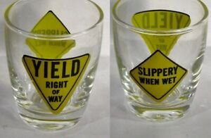 Slippery-When-Wet-Yield-Right-Of-Way-Road-Signs-Shot-Glass-5240