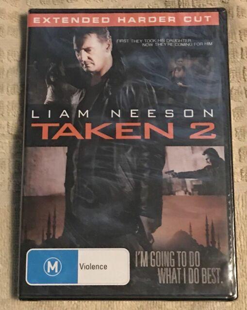 Taken 2  Extended Harder Cut DVD LIKE NEW, FREE POST (D6)