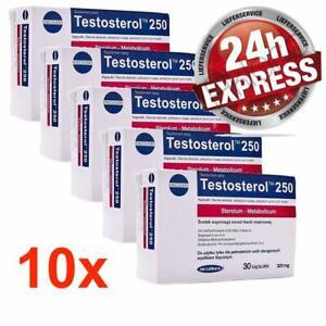 Testosteron BOOSTER 4 x TESTOSTEROL 250 Muskelaufbau Libido wirkt anabol GRATIS