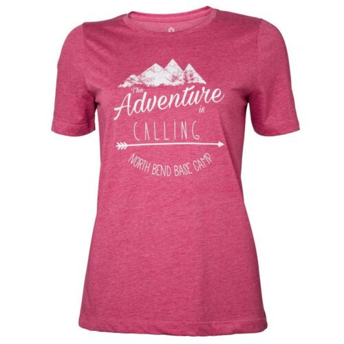 North Bend Vertical Tee Damen T-Shirt rot
