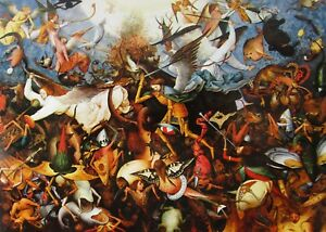 La-Chute-Des-Anges-Rebelles-Fall-of-Rebel-Angels-Pieter-Bruegel-1562-Religious