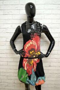 Vestito-DESIGUAL-Tajer-Donna-Woman-Taglia-S-Abito-Dress-Cotone-Woman-Tubino