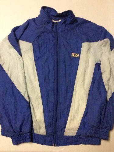 Vintage 70s-80s Fila Full Zip Tennis Track Jacket