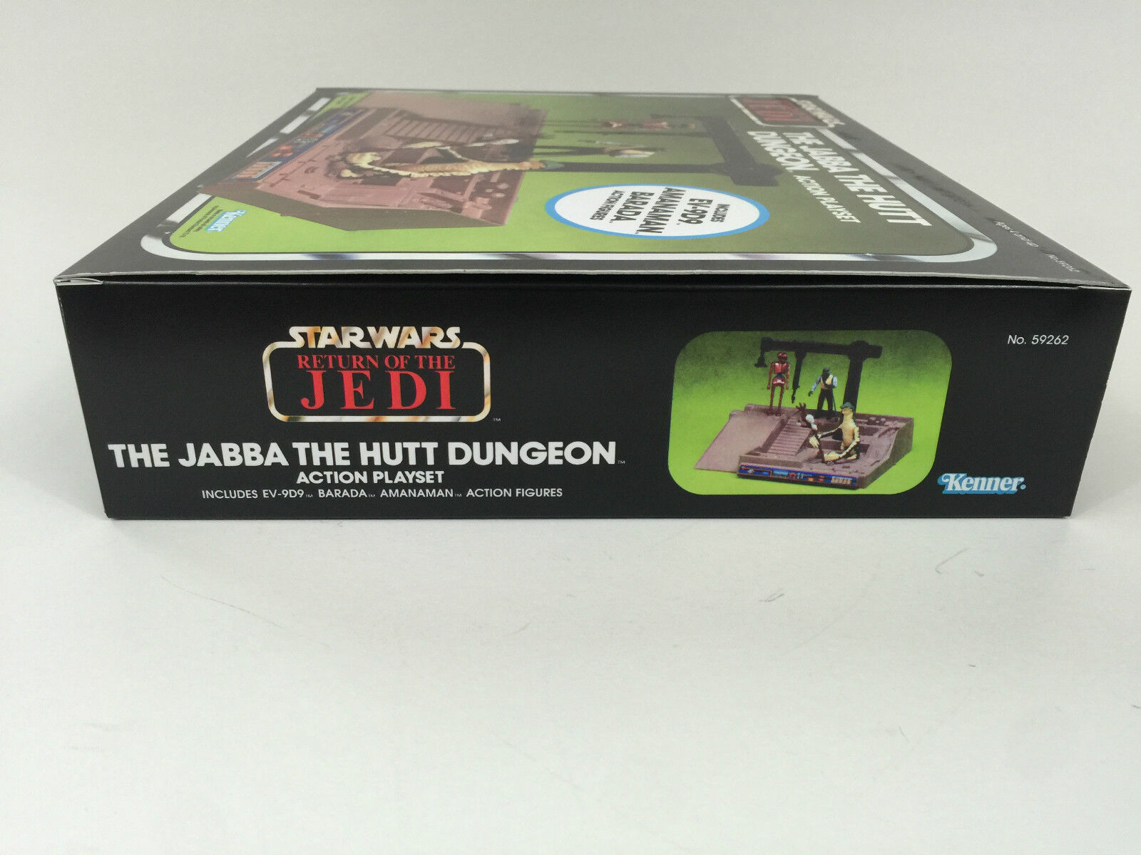 Replacement vintage star wars wars wars return of the jedi jabba dungeon playset green box 5b0706