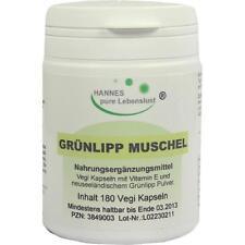 GRUENLIPP MUSCHEL Extrakt Vegi Kapseln   180 st   PZN3849003