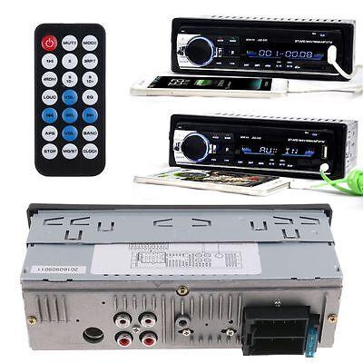Radio Coche Bluetooth In-Dash 12V SD/USB/AUX FM Estéreo MP3 Reproductor I DIN