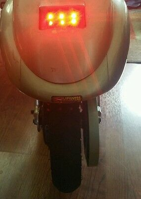 Razor Pocket Mod LED Brake and Taillights ad on. .Must Have Our Variable Speed
