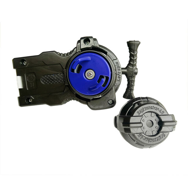 Double String Beyblade Metal Fusion Power Left Right Spin Launcher